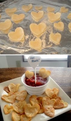 Heart Shaped Tortilla Chips & Skinnygirl® Margarita...now THAT'S love :) Just remember, A Lady Always Drinks Responsibly™