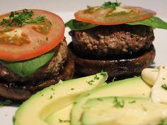 Portobello-Burgers