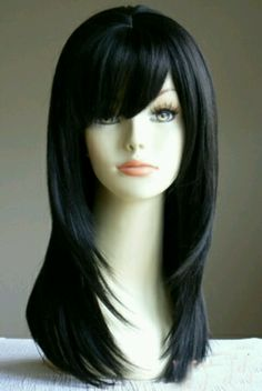 Creepy image but I like the cut. Maybe with a tad bit longer on the bangs.