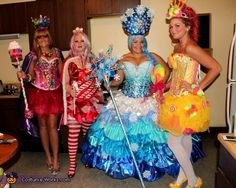 Candyland Outfit Ideas Collection candyland characters costume idea for groups Candyland Outfit Ideas. Here is Candyland Outfit Ideas Collection for you. Candyland Outfit Ideas gallery for candyland characters candy costumes cand. Homemade Halloween Costumes, Halloween Costume Contest, Theme Halloween, Halloween Cosplay, Cool Costumes, Halloween Diy, Halloween Stuff, Vintage Halloween, Halloween Makeup