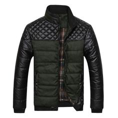 Exclusive Quilted Puffed Bomber Jacket (3 colors)