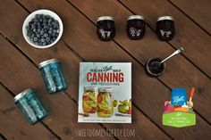 Can It Forward, Blueberry Butter, + a Ball Canning Giveaway