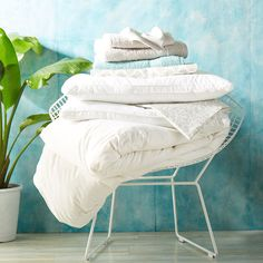 Fresh white linens, what could be better?