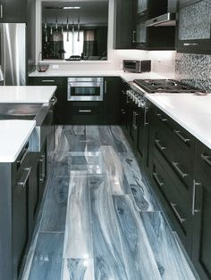 Kauri Tasman Blue Polished | Artistic Tile