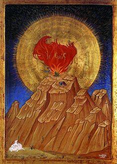 Моисей и Неопалимая Купина