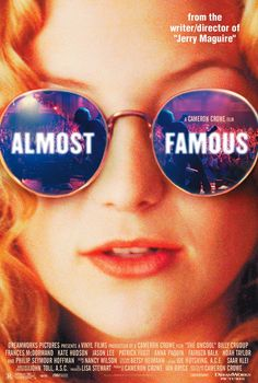 Almost Famous Movie Poster x 40 Inches - x -(Patrick Fugit)(Philip Seymour Hoffman)(Frances McDormand)(Jason Lee)(Billy Crudup)(Kate Hudson) Famous Movie Posters, Famous Movies, Iconic Movies, Kate Hudson, Film Analysis, Patrick Fugit, Peliculas Online Hd, Billy Crudup, It's All Happening