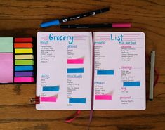 How to Build a Master Grocery List to Make Shopping Quick & Easy | LittleCoffeeFox