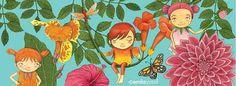 Faries from 'Lil' Guardian Alphabet' by Emila Yusof (Oyez!Books (Malaysia), 2013)