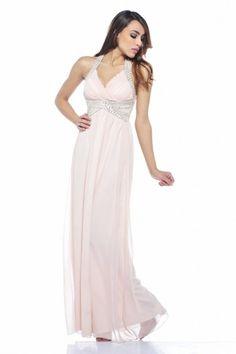 Jewel Halter Neck Maxi Dress - AX Paris