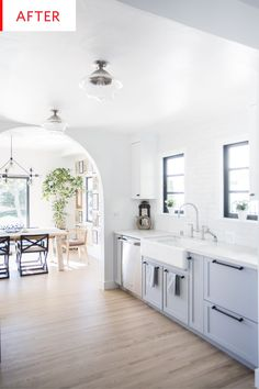 Before and After: This Modern Farmhouse Kitchen Remodel Was By No Means Cheap | Apartment Therapy