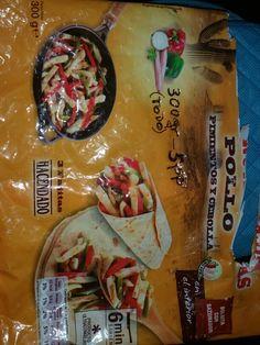 Relleno FAJITAS todo ( 300 gr)....  5 pp Weight Watchers Meals, Fajitas, Food And Drink, Grocery List Healthy, Foods, Recipes
