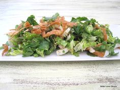 Don't Miss These Top Summer Obon Festival Foods! - Part 2: Asian Fusion Foods: Chinese Chicken Salad