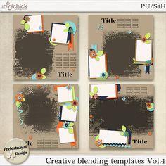 Creative blending Templates Vol.4