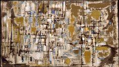 Maria Helena Vieira da Silva Completion Date: 1952 Style: Tachisme Genre: abstract Expressionist Artists, Abstract Expressionism, Abstract Art, Pablo Picasso, Bradley Walker, Art Database, Art Abstrait, Amazing Art, Oil On Canvas