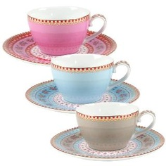 Now I really just want to throw a tea party Pip Studio, Espresso Cups, Happy People, Tea Set, Tea Towels, Cup And Saucer, Dinnerware, Tea Party, Tea Cups