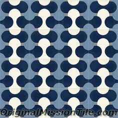 Cement Tiles Oceana Collection by Original Mission Tile Cement Tiles, The Originals, Collection