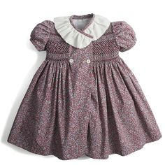 Browse the stunning range of baby girl dresses from Pepa & Co. With a timeless style, our clothes are as beautiful as they are practical with delicate detailing and hand-smocking. Girls Smocked Dresses, Baby Girl Dresses, Baby Dress, Baby Girls, Spanish Dress, Kids Fashion, Fashion Outfits, Fashion Fashion, Jumpsuit Pattern
