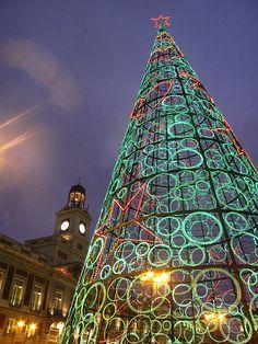 Christmas in Madrid, Spain