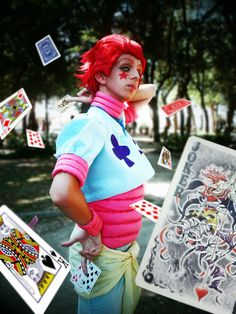 My Cosplay of Hisoka from the Hunter Exam Arc of the 2011 anime!!!