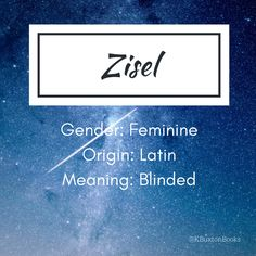 Zisel - girl's name