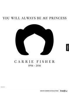 Artyści oddają hołd Carrie Fisher