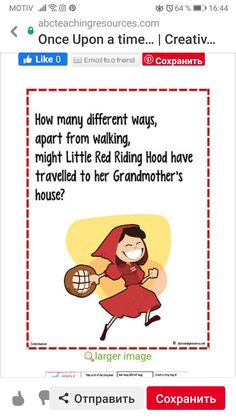 Language Activities, Red Riding Hood, Fictional Characters, Little Red, Fantasy Characters