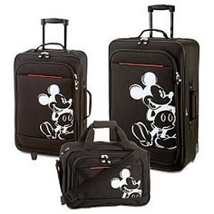 Mickey Mouse Luggage, Mickey Mouse House, Disney Luggage, Mickey Mouse And Friends, Mickey Minnie Mouse, Disney Handbags, Disney Purse, Disneyland, Pc Photo