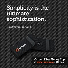 Simplicity is the ultimate sophistication. #GoHursy