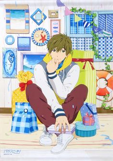 Rin Matsuoka, Makoto Tachibana, Makoharu, Free Eternal Summer, Free Summer, Otaku Anime, Anime Guys, Nagisa, Free Makoto