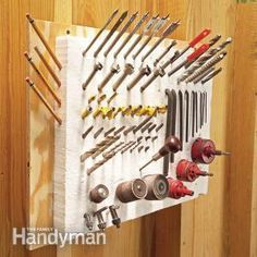 Clever Foam Tool Storage: Drill Bits and Other Pointy Tools #jewelrymaking