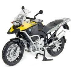 BMW R1200GS Adventure - Yellow / Black - 1:12 Maisto, £11.49 (http://www.discountmodelcentre.co.uk/bmw-r1200gs-adventure-yellow-black-1-12-maisto/)