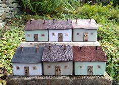 Mini Houses, Upcycle, Miniatures, Bird, Holiday Decor, Outdoor Decor, Home Decor, Decoration Home, Upcycling