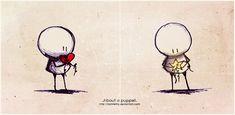 .About a puppet. by Nonnetta.deviantart.com