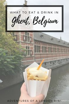 Where to eat and drink in Ghent Belgium #visitgent
