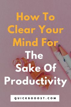 When you're struggling to be productive, try out this simple tactic. Watch as your focus and productivity increase like never before. #productivity #productive