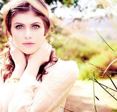 Alexandra Daddario - Her Eyes Are Just Plain Amazing!! So Jealous!!