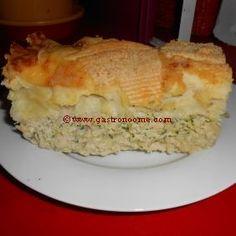 Parmentier de poulet aux courgettes  #Recette, #Parmentier, #Poulet, #Courgettes,