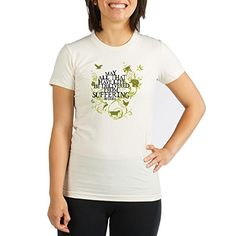 CafePress  Buddha Vine  Animals Organic Womens Fitted TShi  Organic Cotton Womens Fitted TShirt >>> Want additional info? Click on the image.