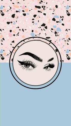 Eyelash Logo, Cute Girl Wallpaper, Instagram Blog, Instagram Highlight Icons, Drawings, Wallpaper Backgrounds, Remover, Lash Lift, Islam Quran