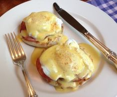Gluten Free Eggs Benedict (  I had this today it was really good lol)☺