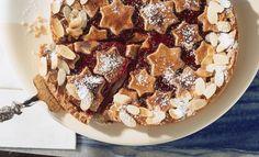 Linzer Torte   Rama I Love Chocolate, Apple Pie, Linzer Torte, French Toast, Cereal, Sweets, Cookies, Baking, Breakfast