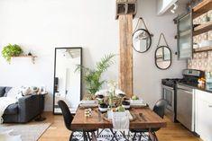 Salle à manger cuisine salon de rêve