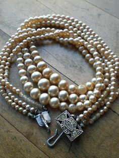 Pearls: part of the Southern girls wardrobe.