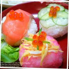 手まり寿司♡お祝いメニュー