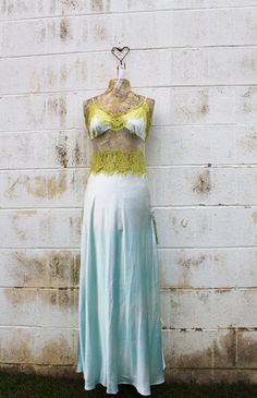 Hand Dyed Slip Dress/Romantic Dress/Wedding by Lucysroom on Etsy, $39.00