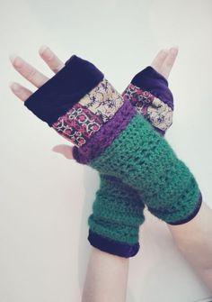 Manusi lana alpaca captusite catifea Fingerless Gloves, Arm Warmers, Crochet, Handmade Gifts, Shop, Bags, Etsy, Fashion, Fingerless Mitts