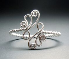 Twisted Paisley Adjustable Bracelet. I am thinking ring.