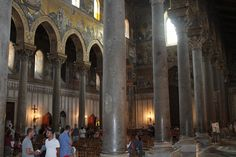Arab Norman catherdral in Monreale, Sicily