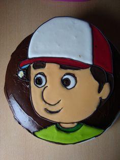 Una de las tortas para Santi en su cumple n°4