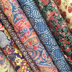 Cotton & Flax - more Liberty of London fabric